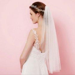 Brautschleier Ivory