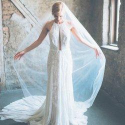 Brautschleier lang