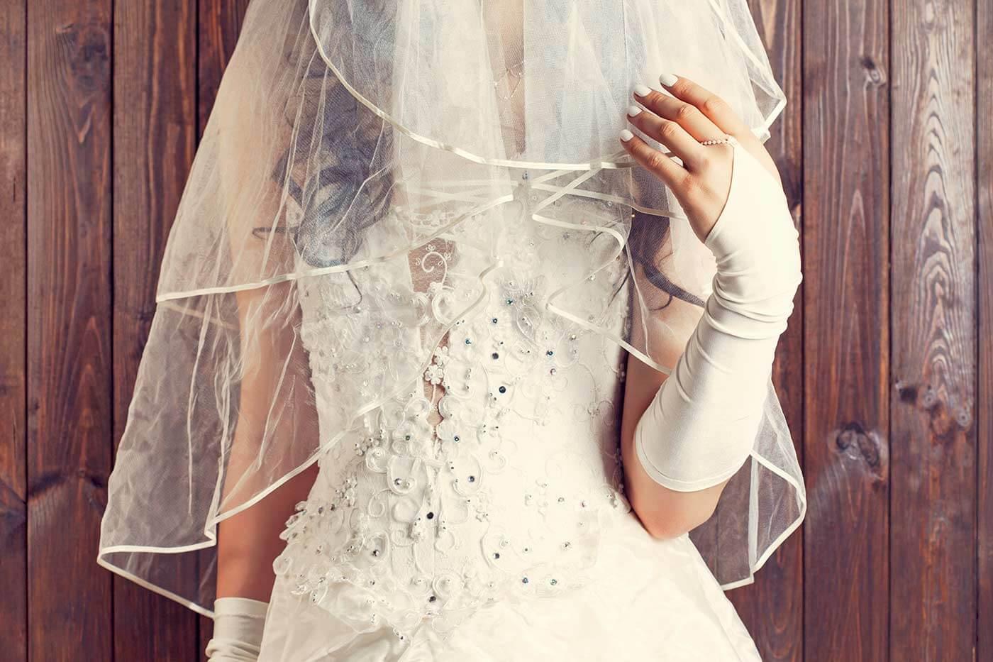 Welcher Schleier zu welchem Kleid?