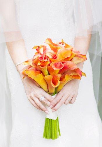 Calla Hochzeitsstrauß