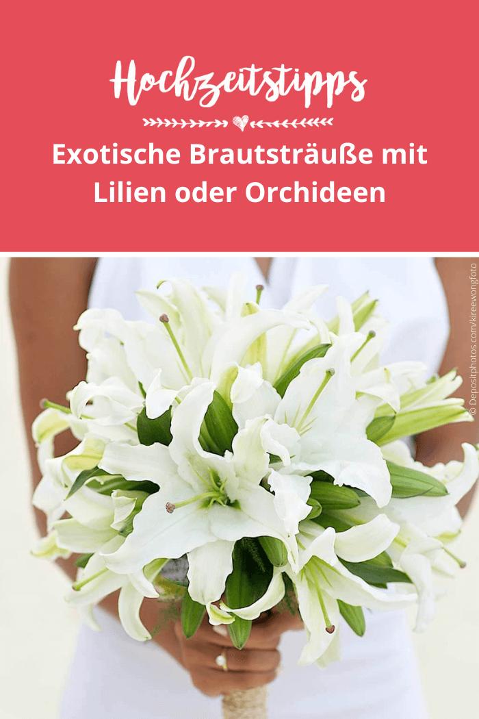 Brautsträuße Lilien