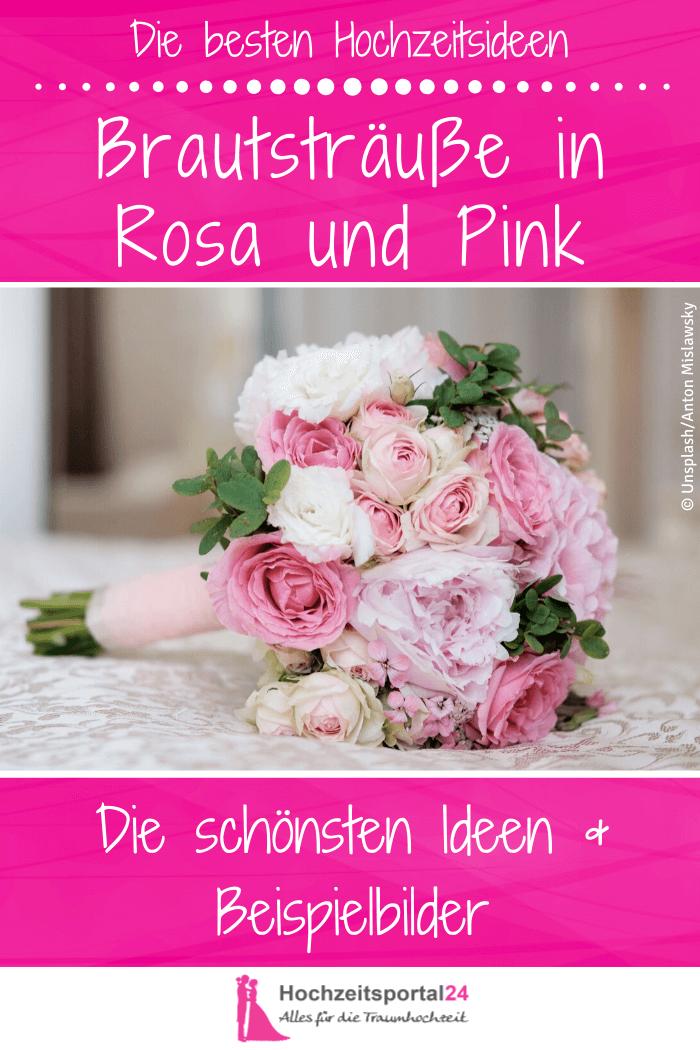 Brautsträuße in Rosa oder Pink