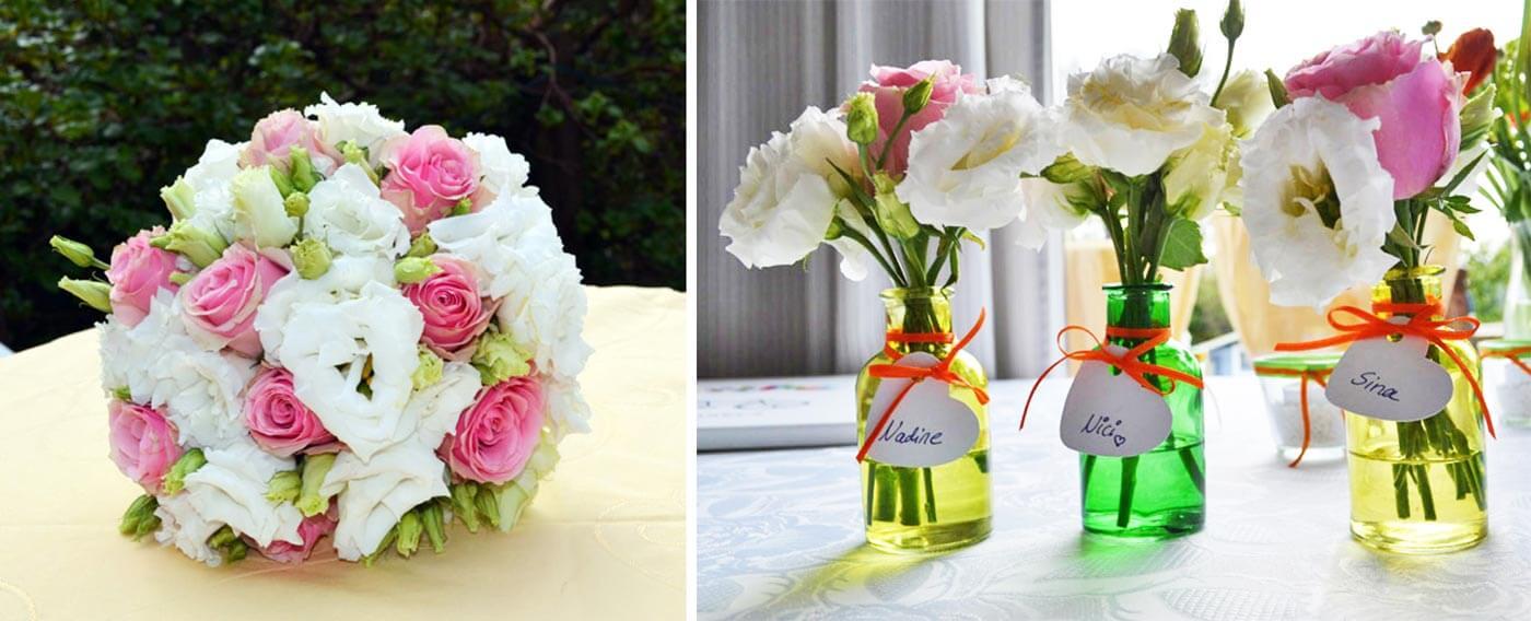 Alternative zum Brautstrauß werfen