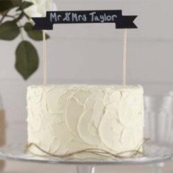 Cake Topper selber machen