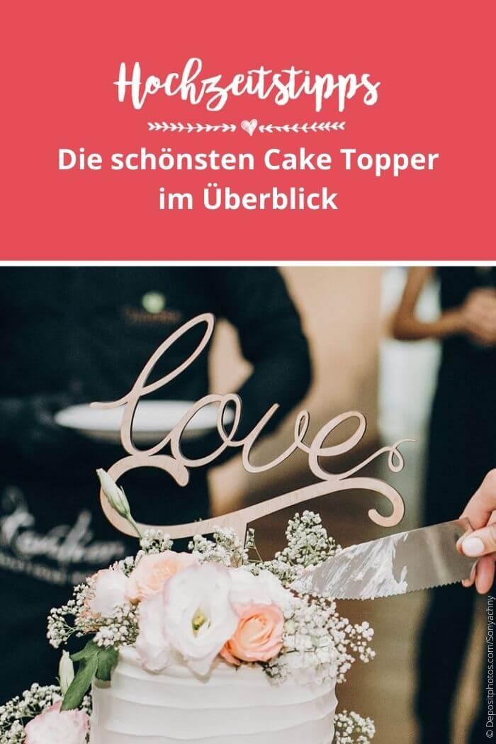 Cake Toppers Hochzeit