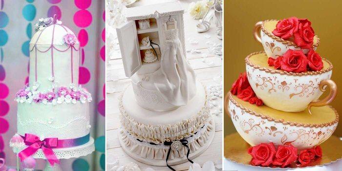 Verrückte Hochzeitstorten