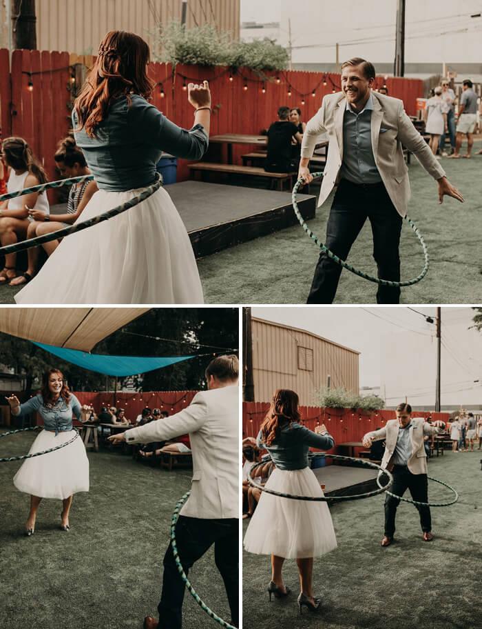 Hochzeitsideen Unterhaltung