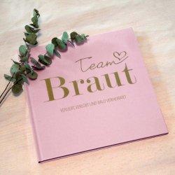 Team Braut Gästebuch