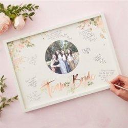 Team Bride Gästebuch