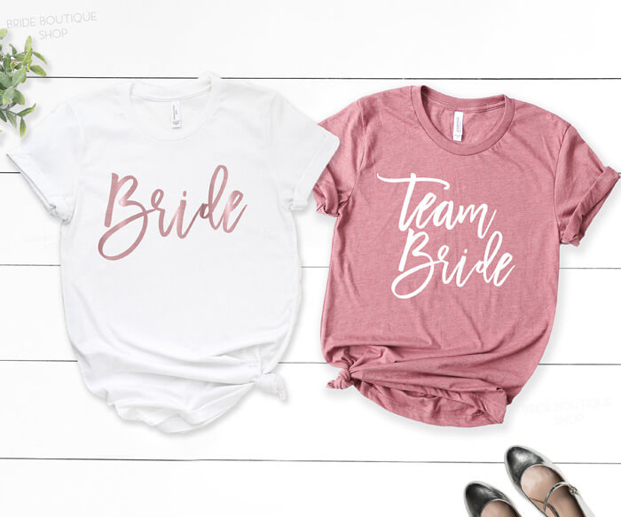 Team Bride T-Shirts