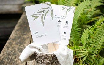 Fächer Hochzeit personalisiert