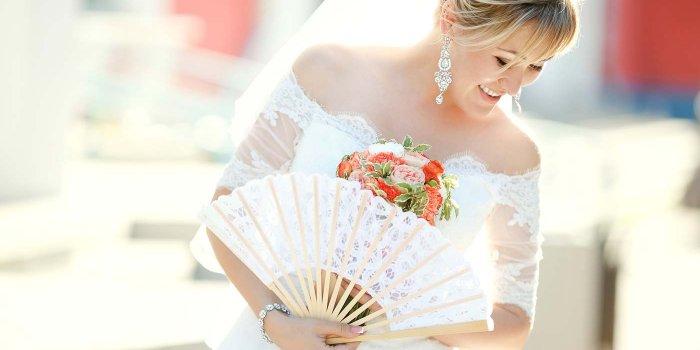 Hochzeit Fächer