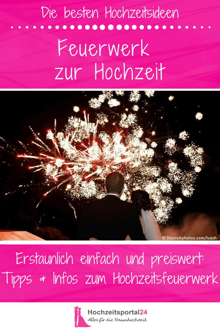 Feuerwerk Hochzeiten