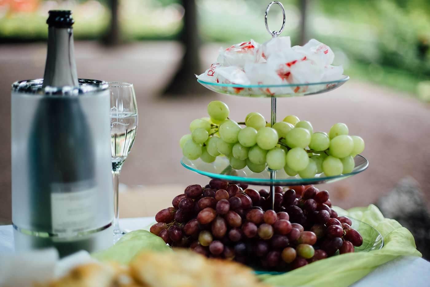 Fingerfood Hochzeit Sektempfang
