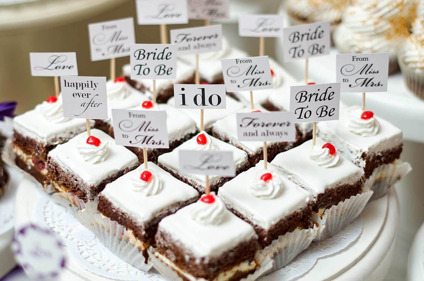 Fingerfood süß Hochzeit