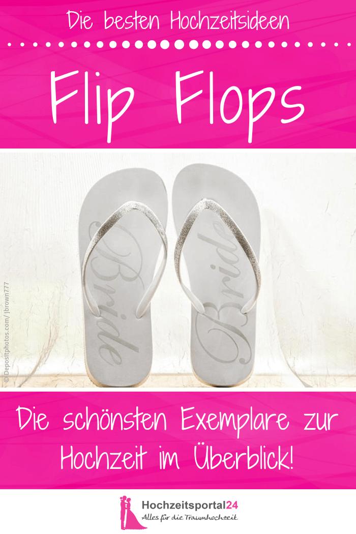 Einweg Flip Flops Hochzeit