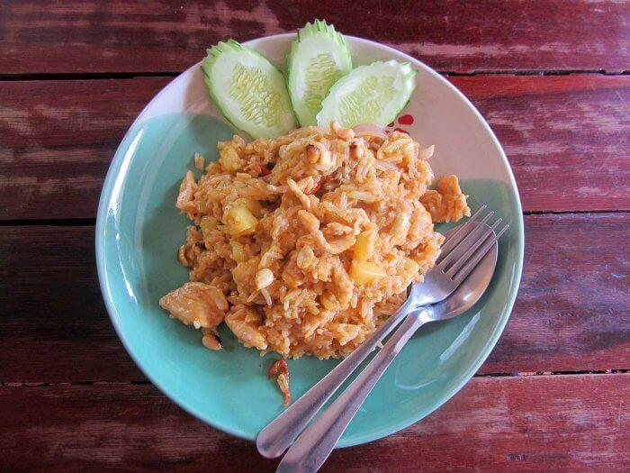 Thailand Flitterwochen Essen