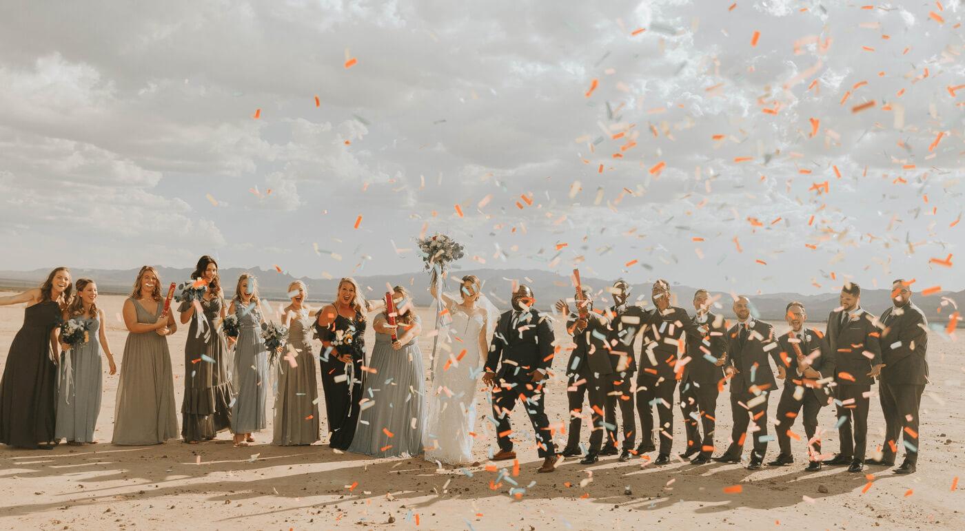 Konfetti Hochzeit