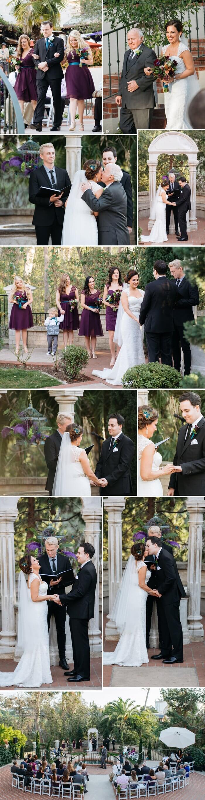 Hochzeit Federn