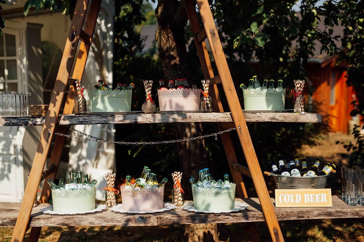 Faustformel Getränke Hochzeit