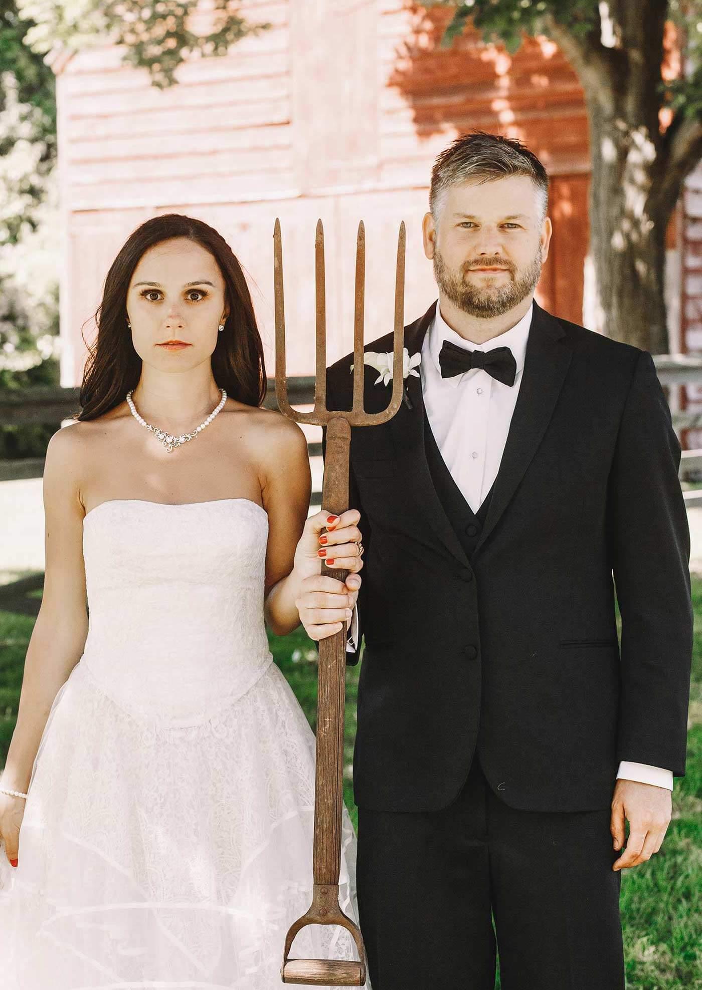 Bauernhof Hochzeit Shooting