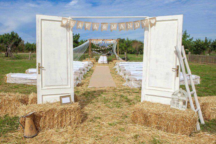 Hochzeit Bauernhof auf der Weide