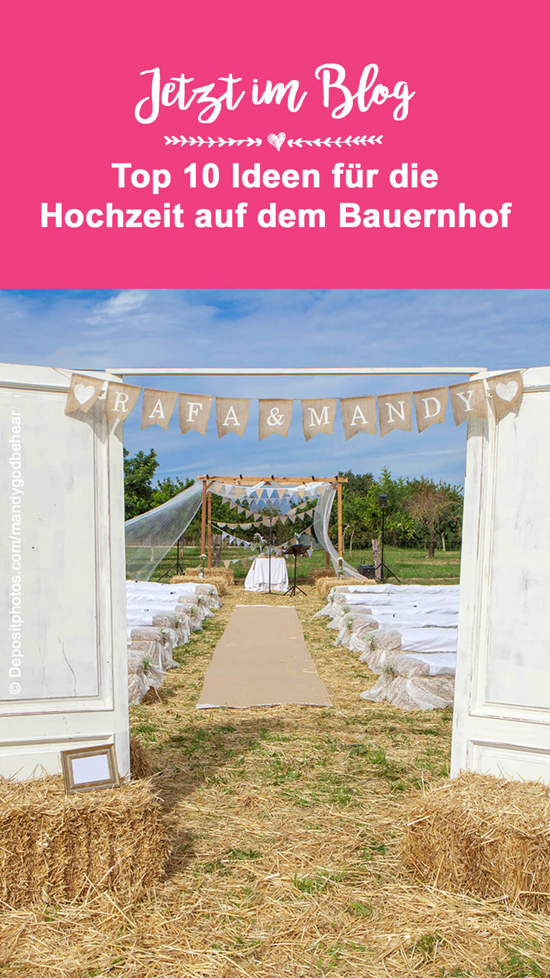 Hochzeitslocation Bauernhof