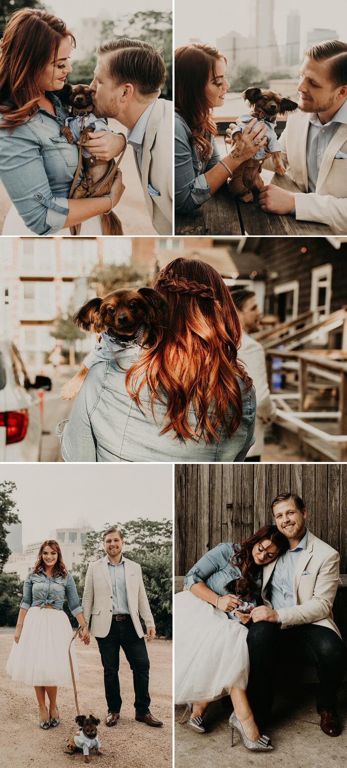 Hochzeitsbilder mit Hund