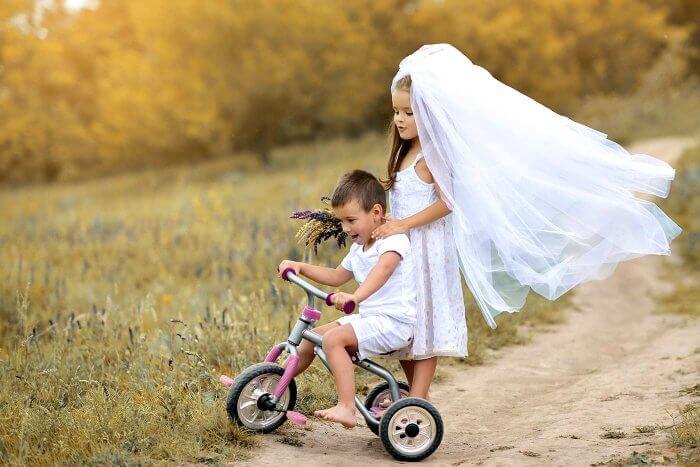 Hochzeit mit Kindern