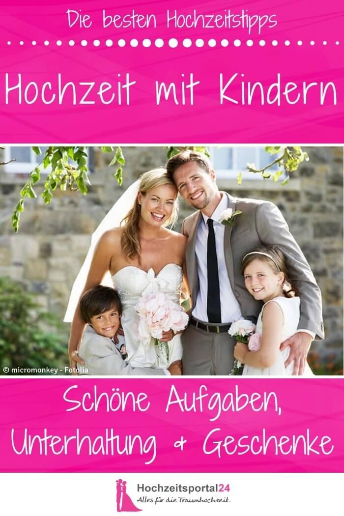 Hochzeit Mit Kindern Schone Aufgaben Unterhaltung Geschenke
