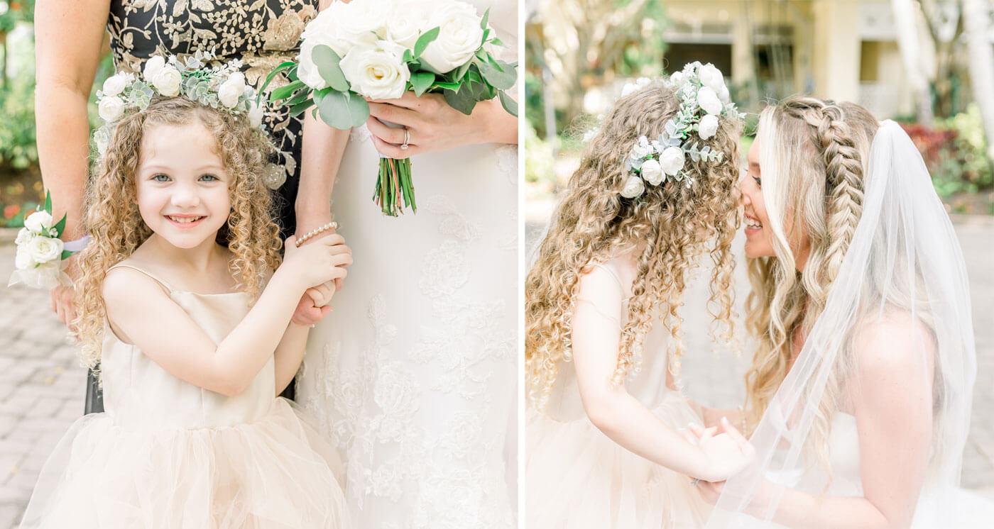 Hochzeitsfotos mit Kindern