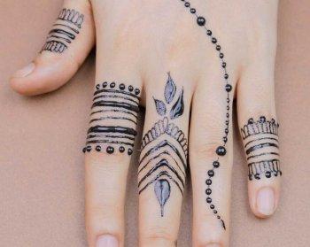 Hochzeit Henna Tattoo