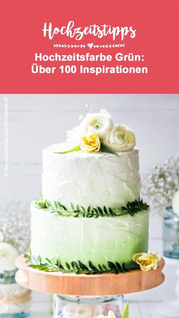 Grün Hochzeitsfarbe