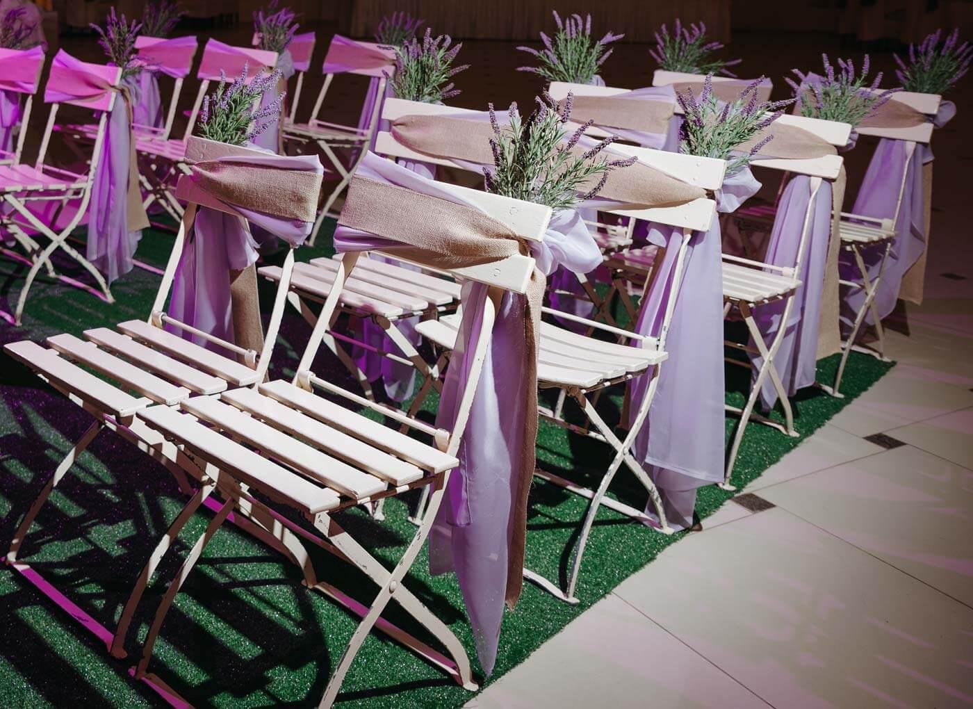 Lavendel Deko Hochzeit