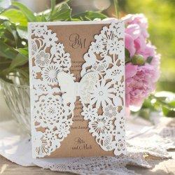 Hochzeitseinladung Schmetterlinge