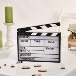 Leuchtschild Filmklappe