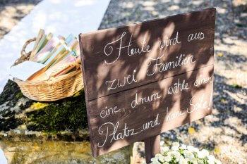 Heute wird aus zwei Familien eine Schild