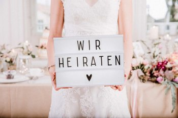 Lightbox Hochzeit