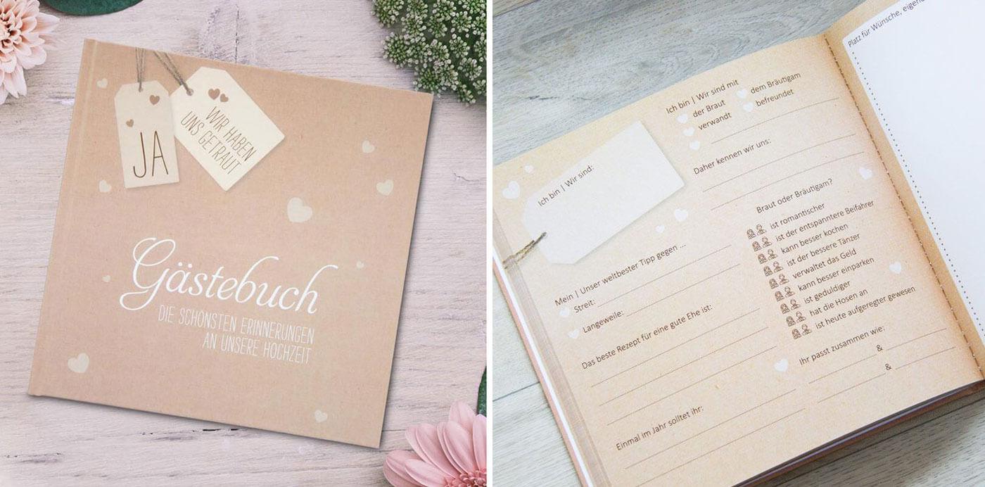 Hochzeitsbuch Gästebuch