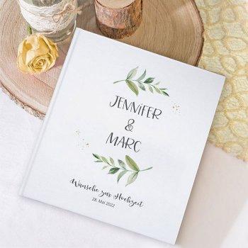 Personalisiertes Gästebuch Hochzeit