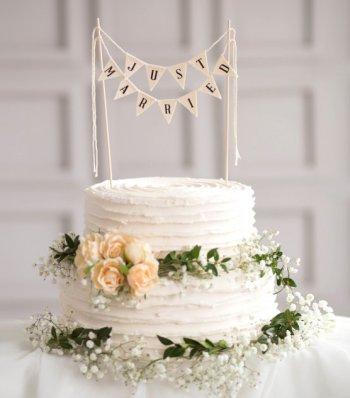 Hochzeitstorte Girlande