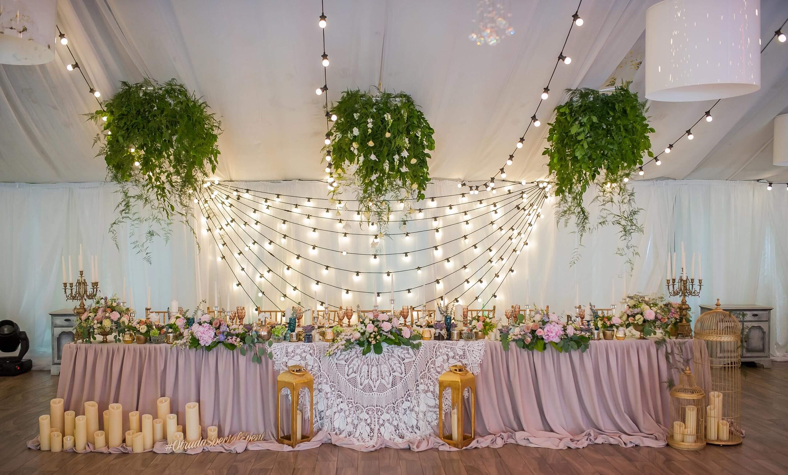 Hochzeit-Girlande