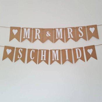 Türgirlande Hochzeit