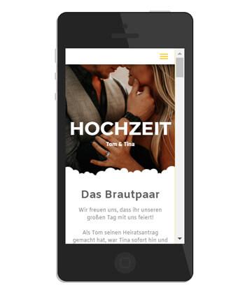Hochzeit Homepage Beispiele