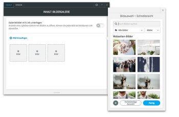 Hochzeitswebsite Beispiele