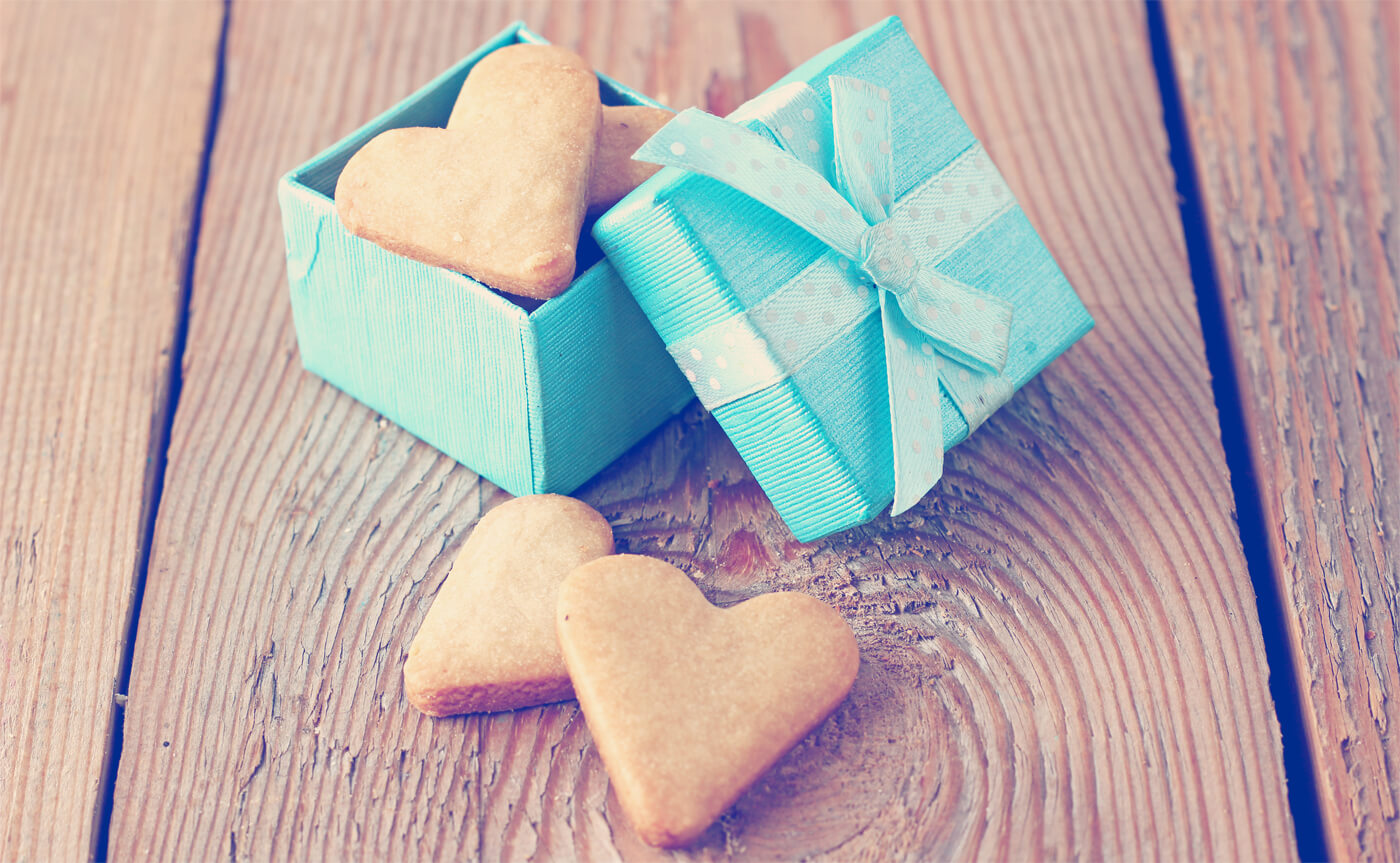 Gastgeschenk Kekse