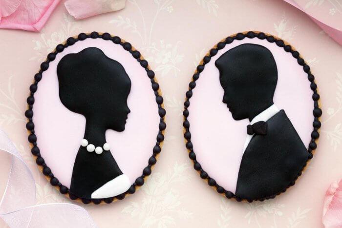 Hochzeitscookies