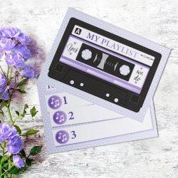 Hochzeit Musikwunschkarten