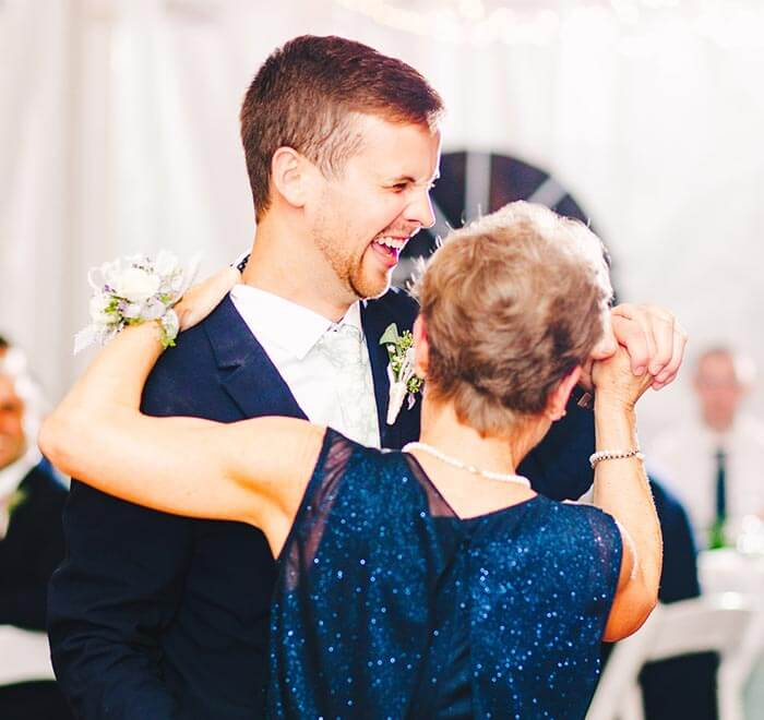 Bräutigam Mutter Tanz