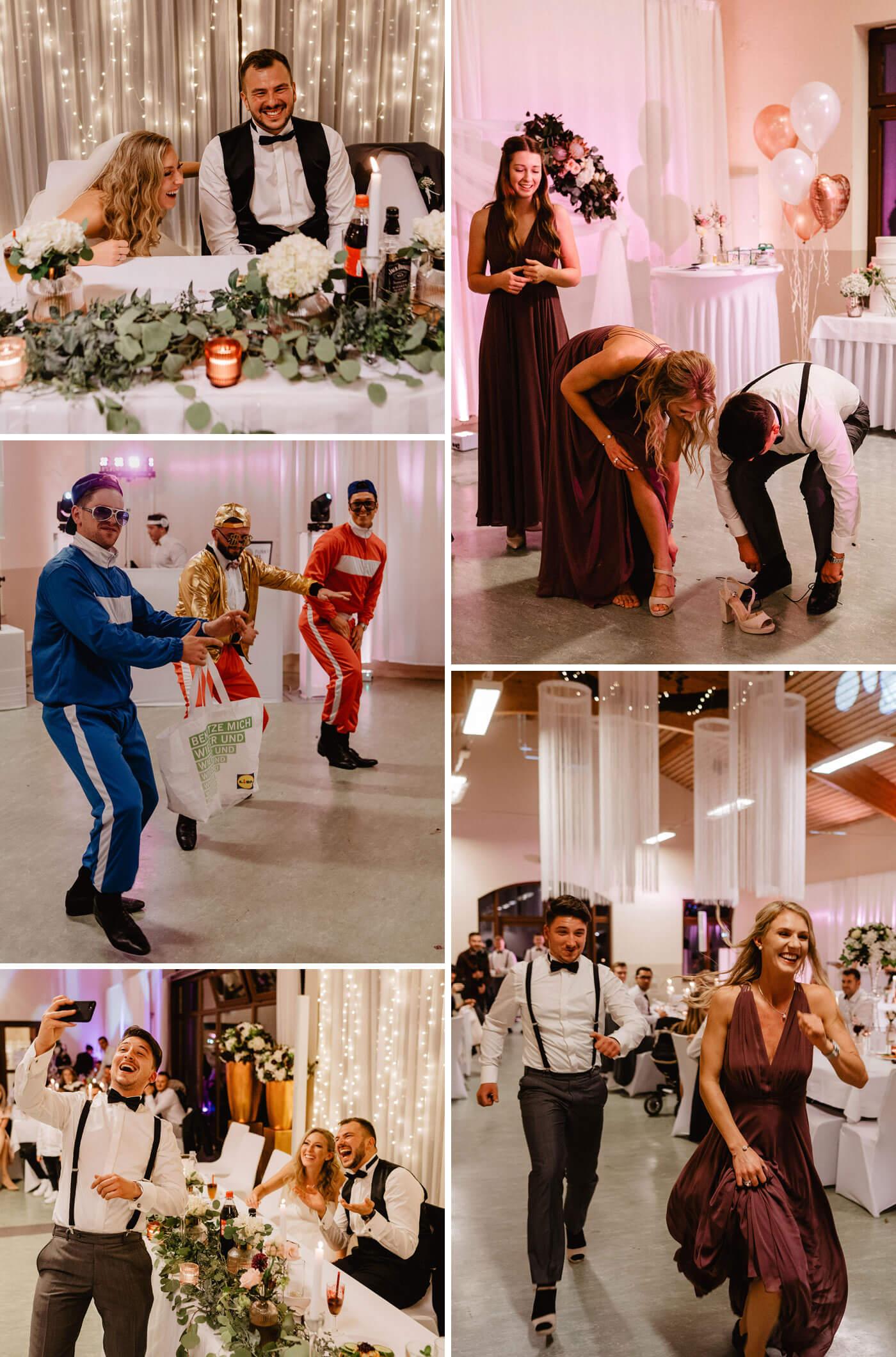 Hochzeitssaal Unterhaltung